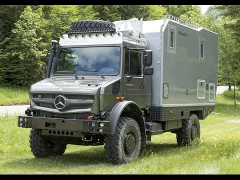 Camping car unimog camping car occasion luxe