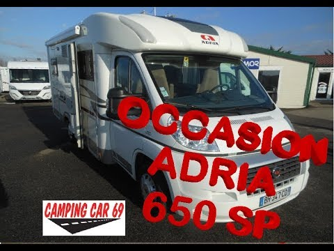 Camping-car d'occasion