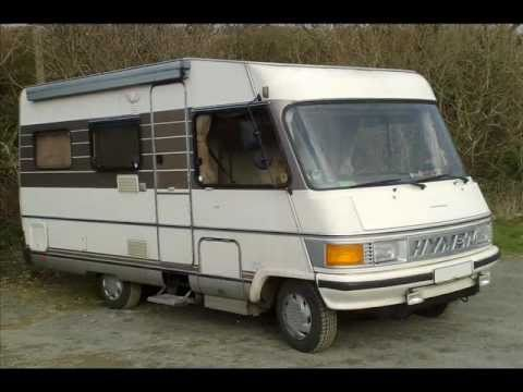 Camping car hymer d occasion