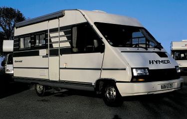 Camping car hymer occasion 1990