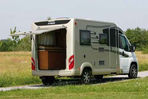 Camping car hymer compact occasion