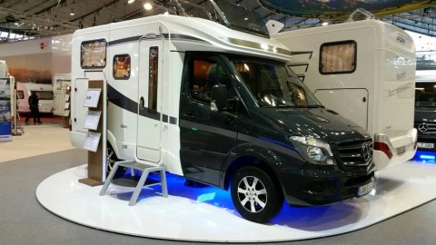 Occasion camping car porteur mercedes