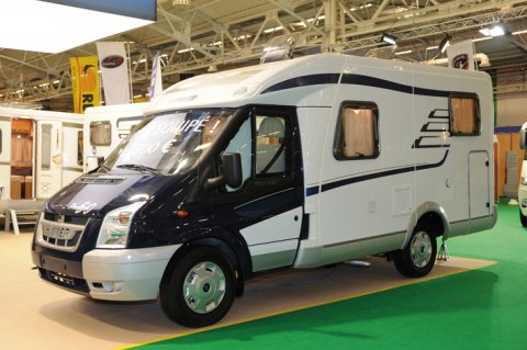 Occasion camping car hymer van