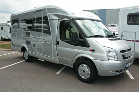 Camping car hymer van 572 occasion