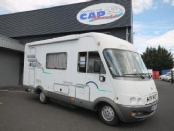 Camping car occasion hymer b 584