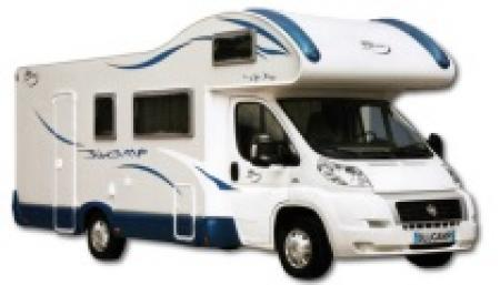 Camping car blucamp occasion