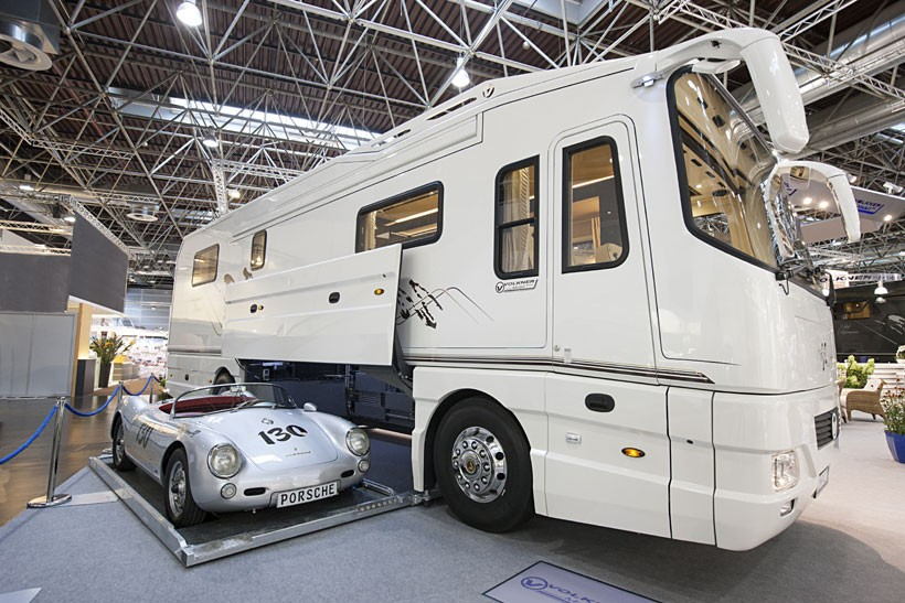 Camping car grand luxe