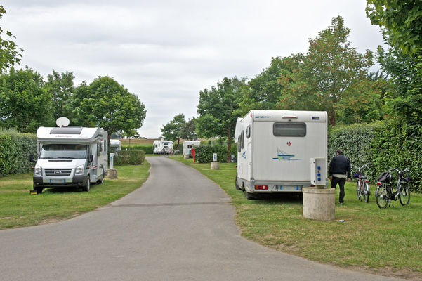 Aire camping car saint malo