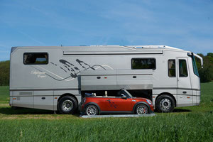 Camping car occasion avec garage voiture