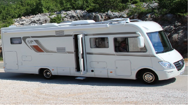 Camping car occasion 6 roues