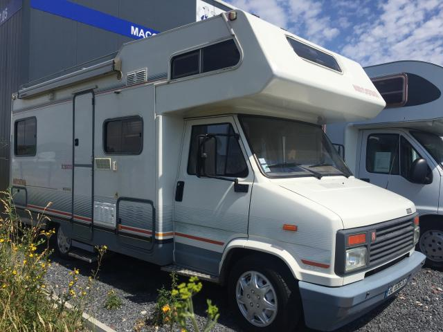 Camping car plus de 3t5 occasion