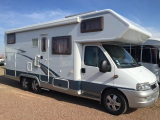 Camping car double essieux occasion