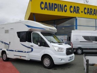 Camping car chausson flash 510 occasion