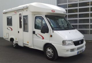 Camping-car fleurette chipeau 3 occasion