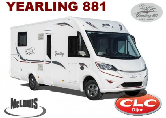 Camping car yearling 881