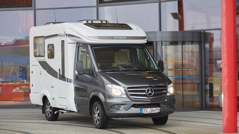 Mercedes sprinter camping car occasion