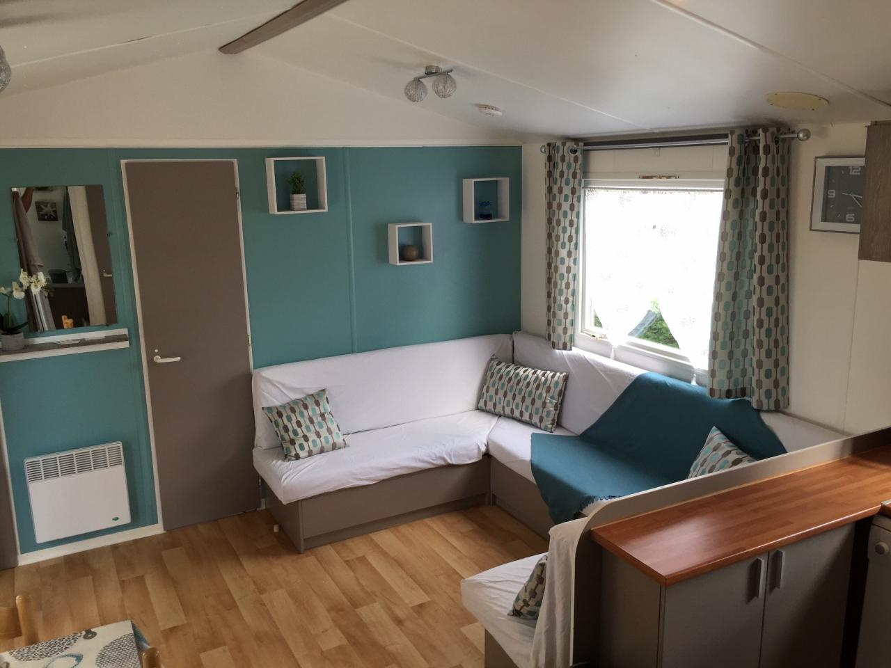Housse banquette mobilhome