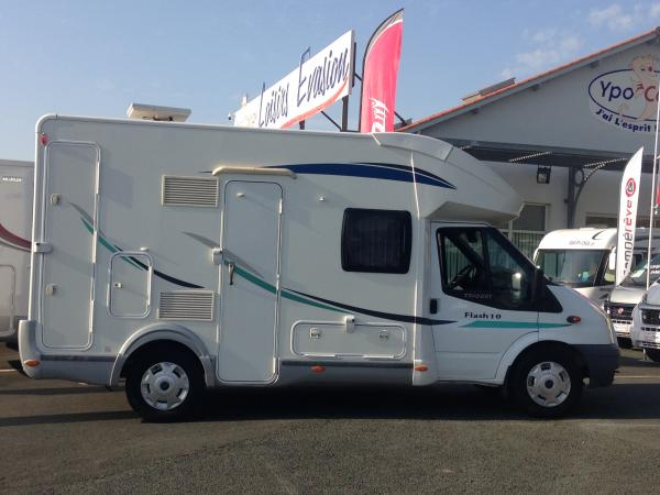 Occasion camping car chausson