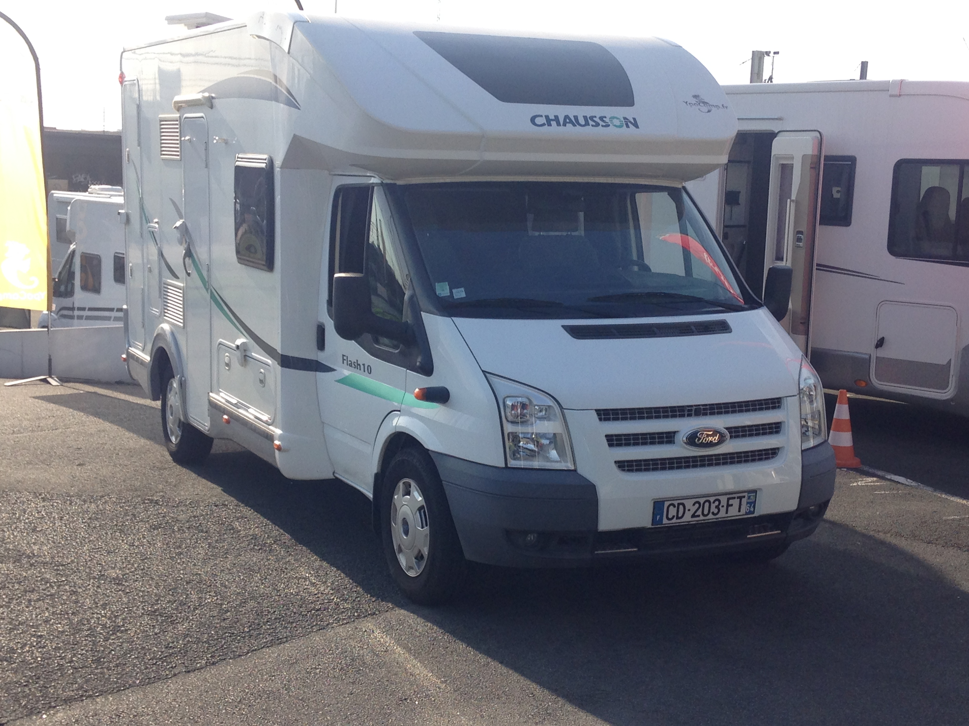 Camping car chausson flash 10 occasion