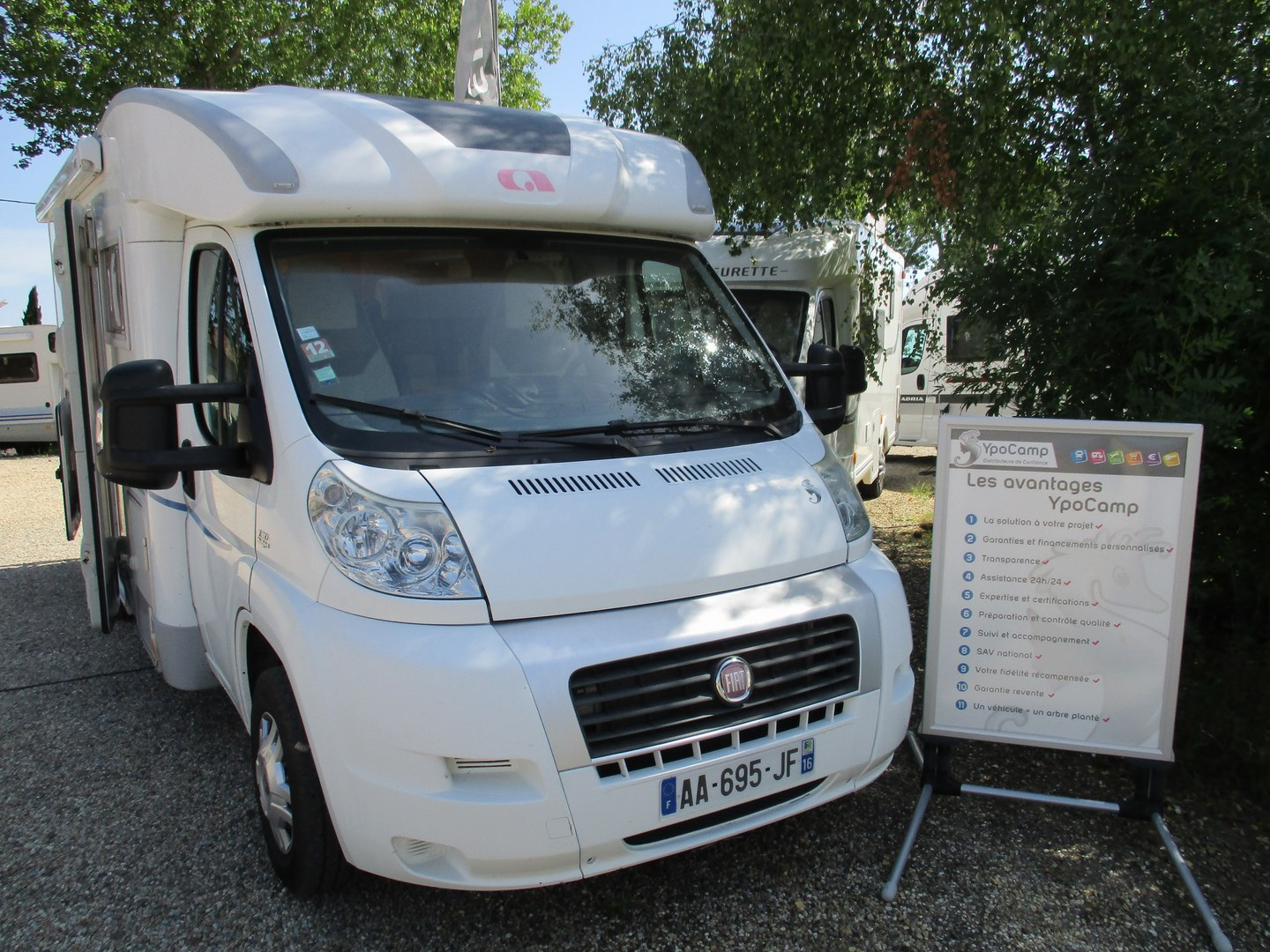 Camping car occasion roullet st estephe