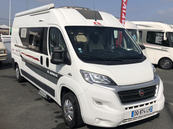Camping car adria twin 600 spt occasion
