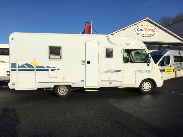 Camping car pilote galaxy occasion