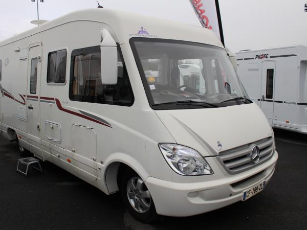 Camping car lvx occasion