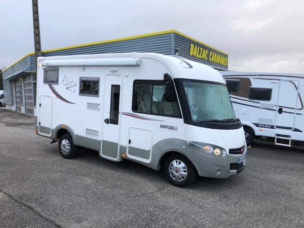 Achat camping car rapido occasion