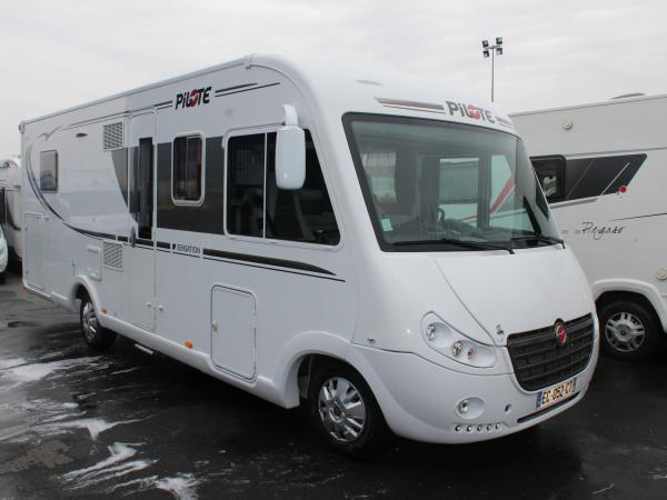 Camping car pilote d occasion