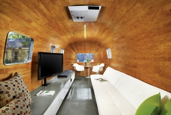Renovation caravane interieur