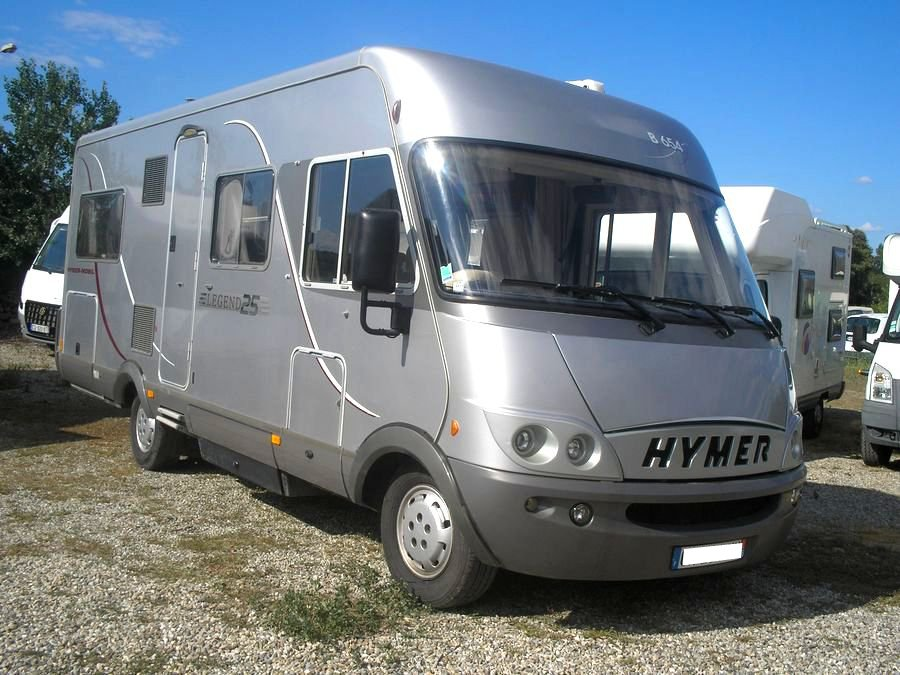 Camping car hymer b 654 occasion