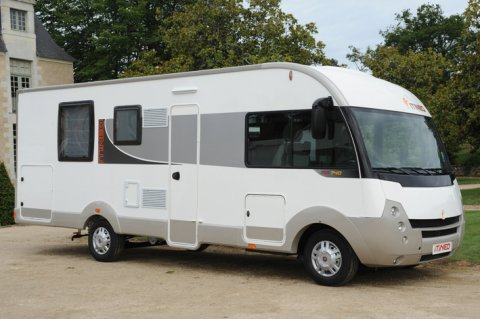 Camping car itineo 740 occasion
