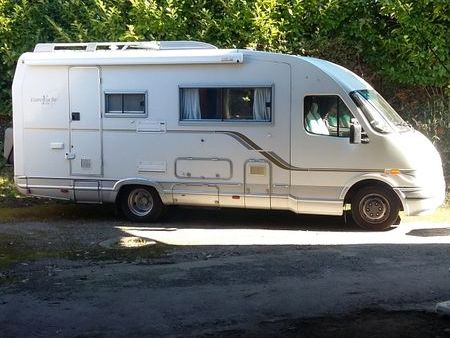 Iveco camping car occasion