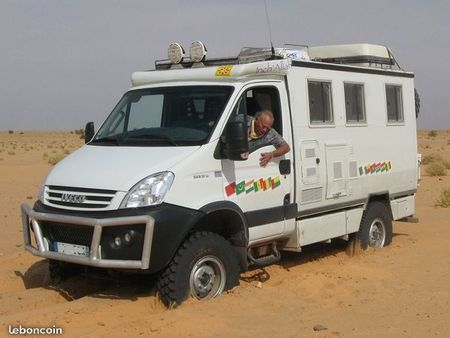 Iveco daily camping car occasion