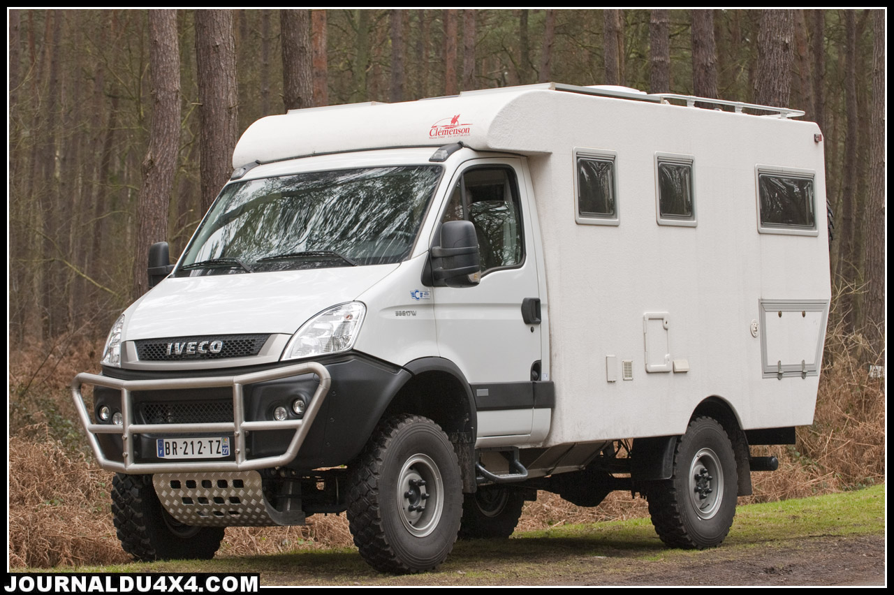 Camping car 4×4 iveco occasion