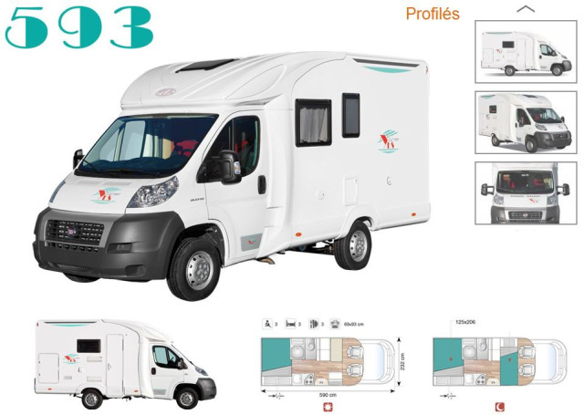 Camping car neuf le plus cher