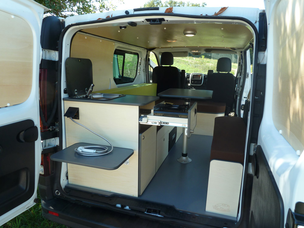Kit amenagement peugeot expert camping car