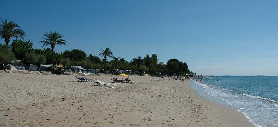 Camping espagne acces direct plage