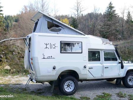 Cellule camping car 4×4 occasion