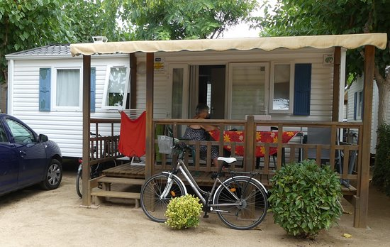 Mobilhome camping les vagues