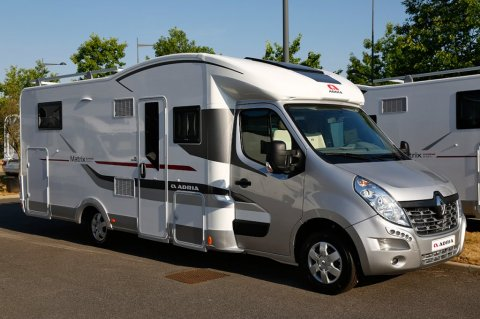 Master camping car occasion