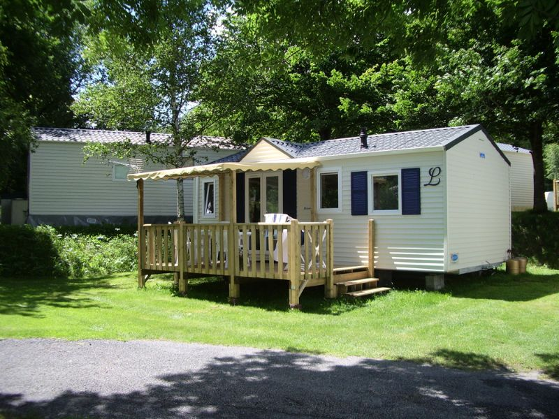 Mobilhome forme chalet