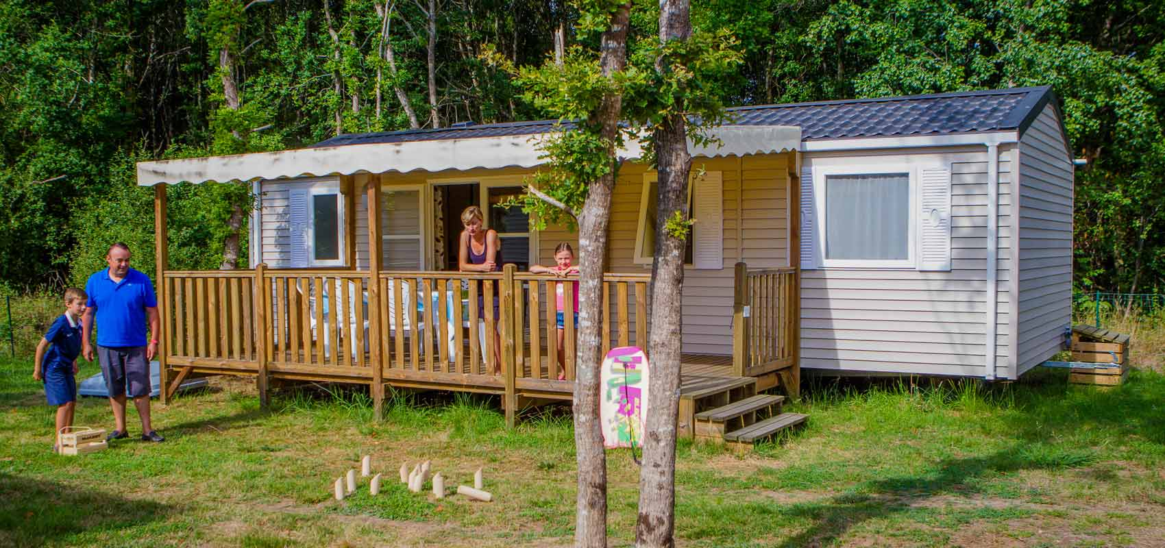 Location camping mobilhome