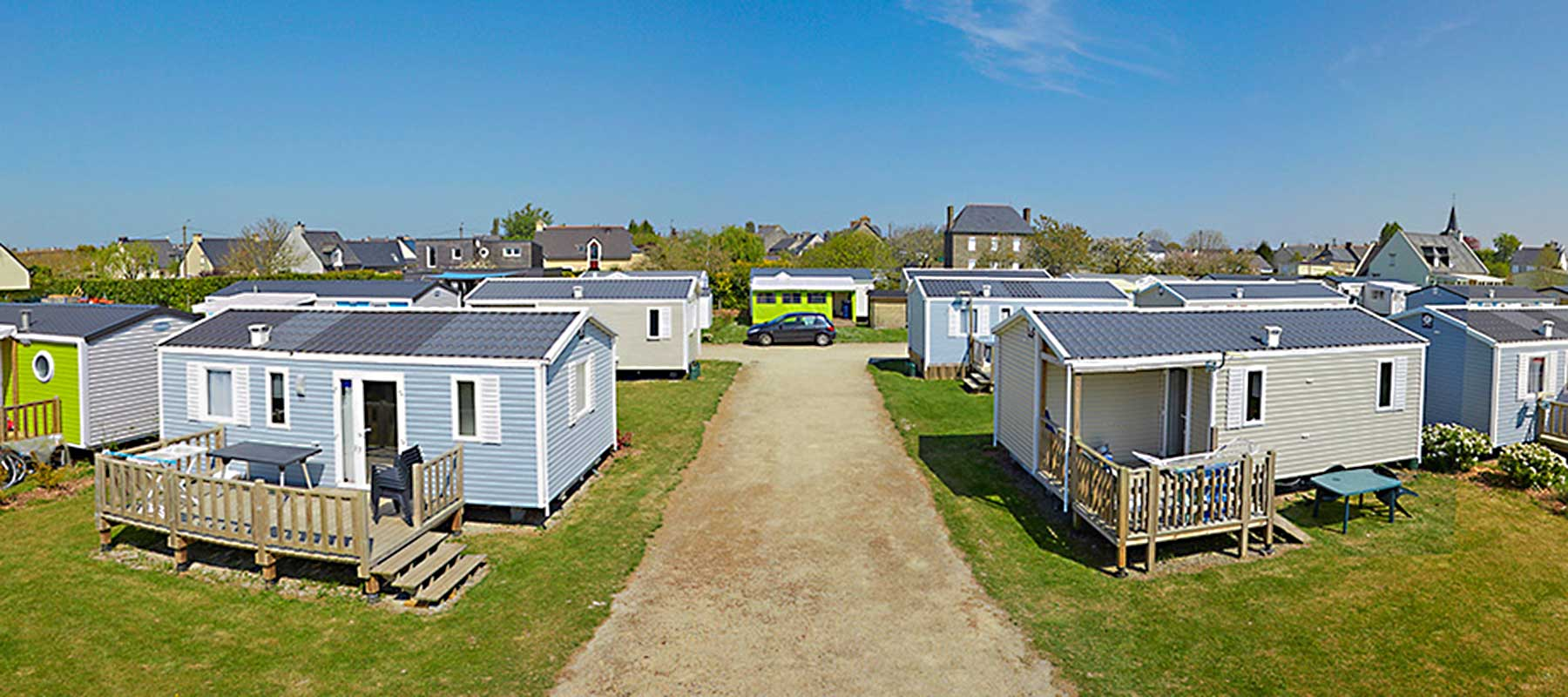 Mobilhome mont st michel