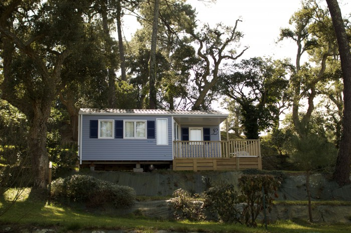 Camping mobilhome normandie