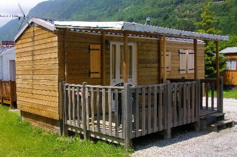 Mobil home montagne