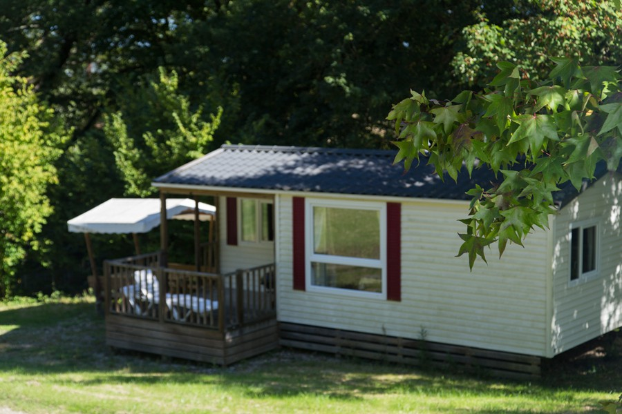 Camping ariege mobilhome