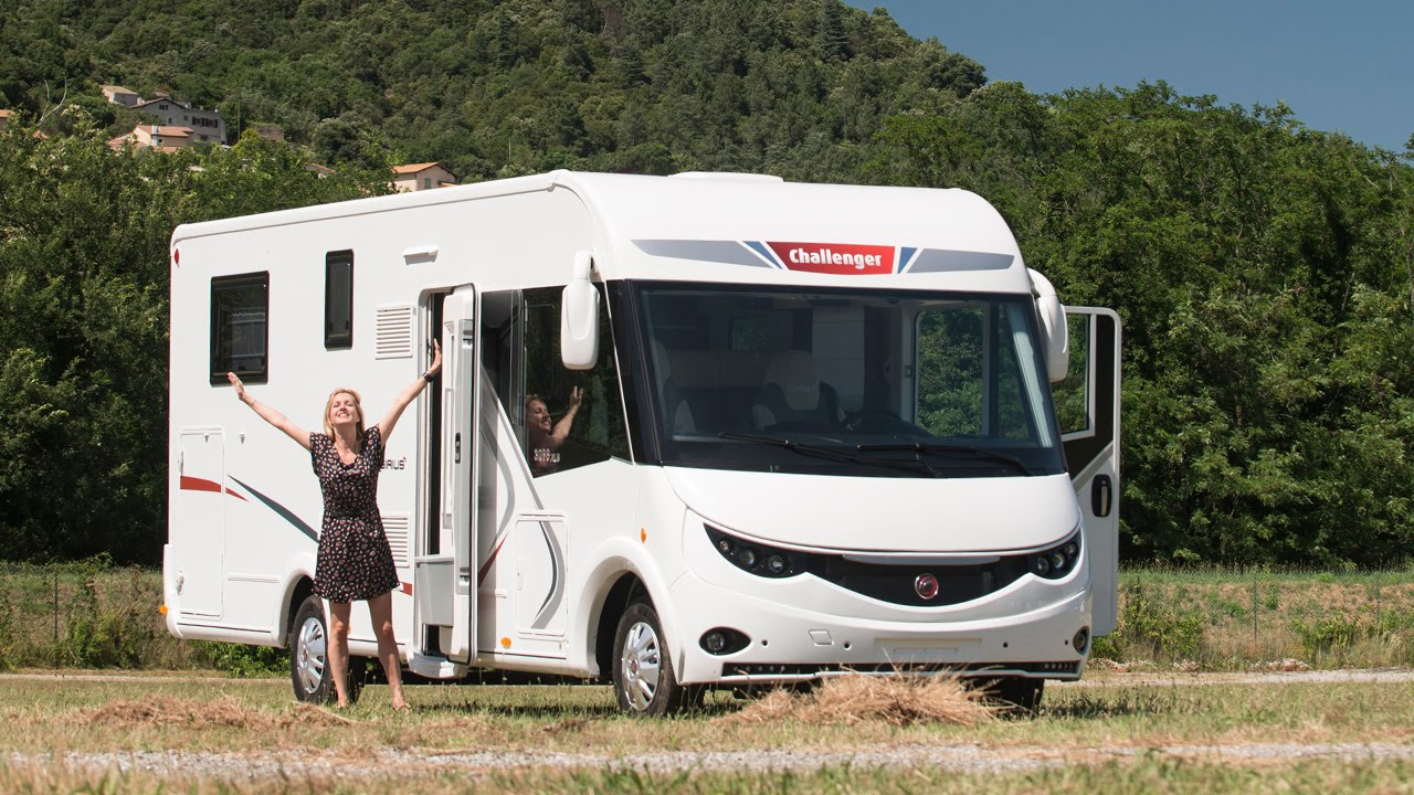 Camping car challenger 2017