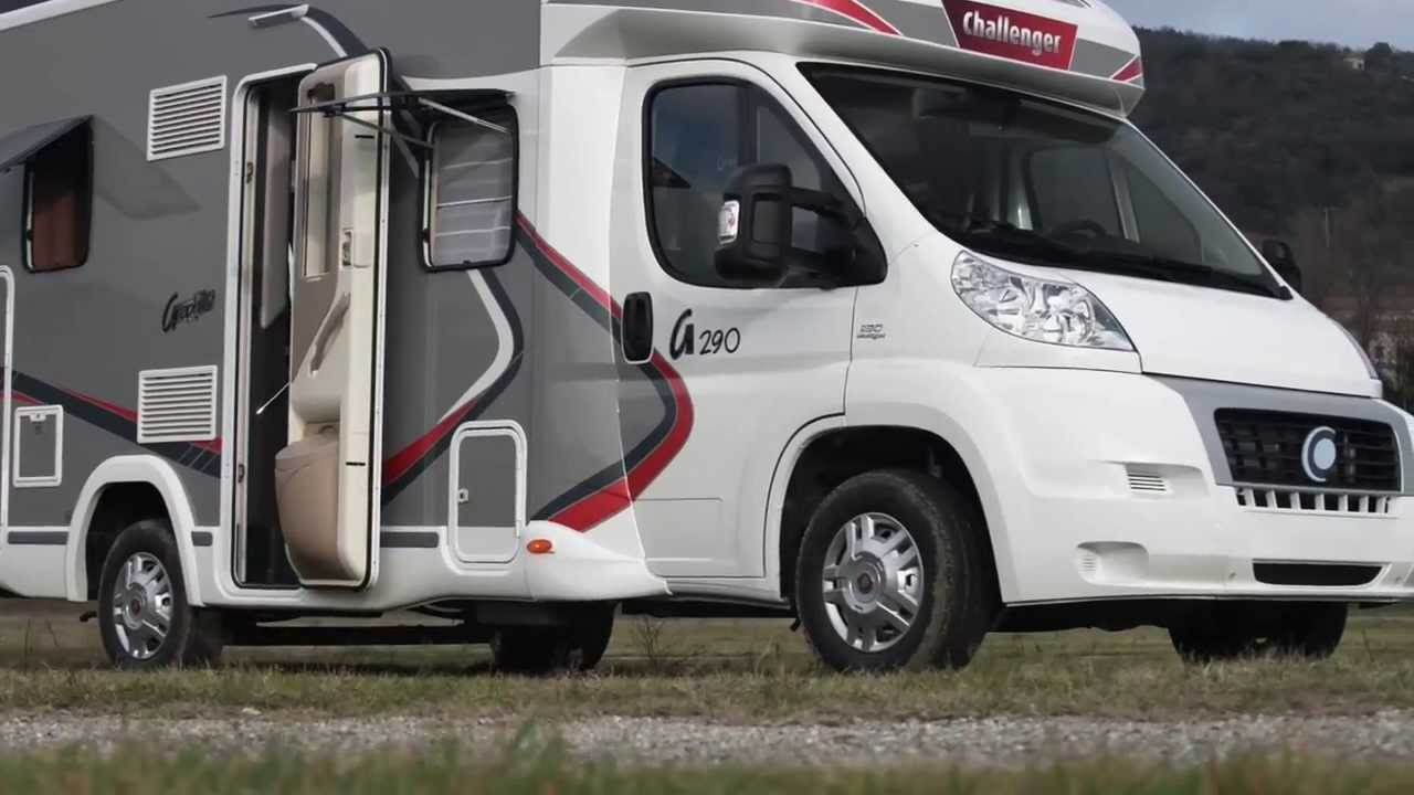 Camping car challenger 100 d'occasion