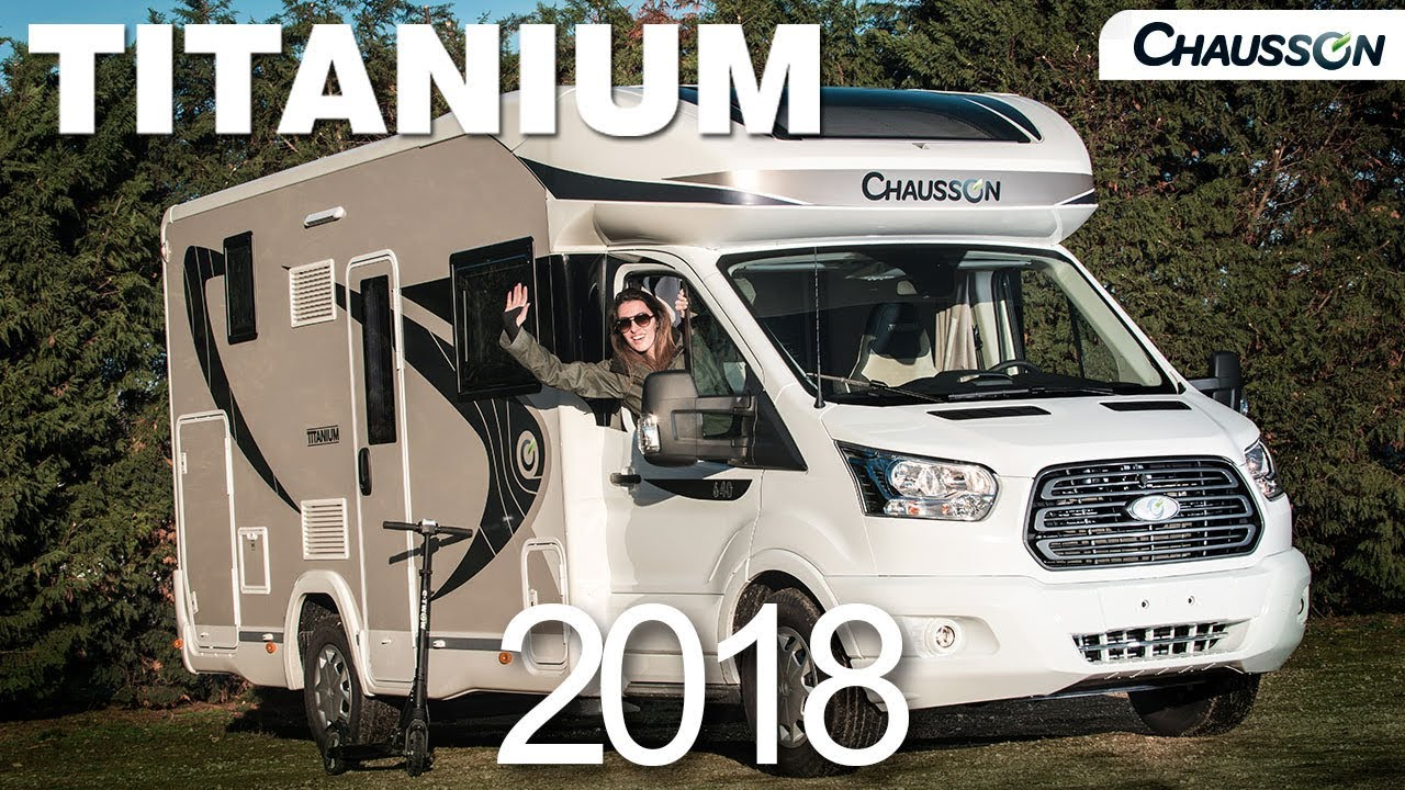 Camping-car chausson